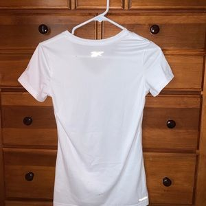 White Reebok V-Neck
